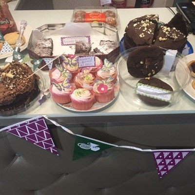 Macmillan Coffee Morning , thank you!