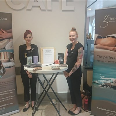 Pop Up Spa Waitrose