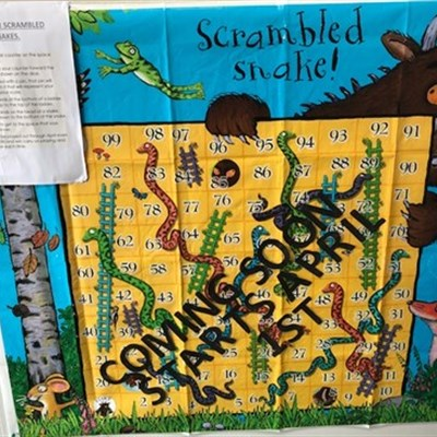 Scrambled Snakes & Ladders is back!